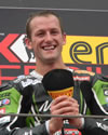 Tom Sykes on 2012 Magny Cours podium